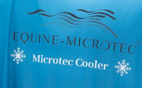 """Kühlhandtücher """"MICROTEC COOLER"""" mit innovativer Kühlfunktion 2er Set- Limited Edition Ice Blue"""