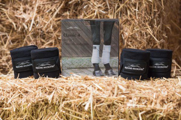 Fleece Bandagen CLASSIC 4er Set